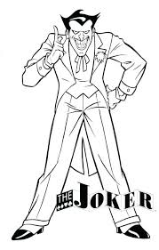 coloring Joker Coloring Pages Suicide Squad The Cute And Deadshot