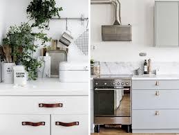 poignee porte cuisine design poignée en cuir pour meuble le dé qui change tout joli place