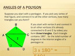 How Many Interior Angles Does A Pentagon Have Section 3 5 Polygons A Polygon Is A Closed Plane Figure Made