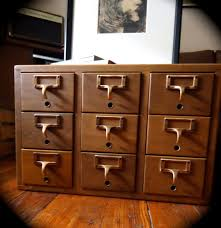 Library File Cabinet Surprising Card File Cabinet Image Inspirations Cabinets
