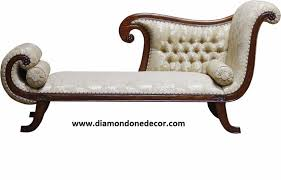 Victorian Sofa Reproduction Recamier