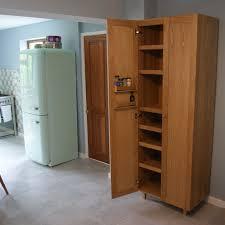 oak pantry kitchen larder cupboard mijmoj