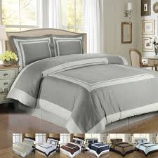 Bed Covers Set Hotel 100 Cotton Duvet Cover Set