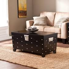 Black Trunk Coffee Table by Crosley Furniture Bancroft Two Tone Coffee Table Cf6109 Wh By