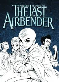 comic book graphic highlight avatar airbender