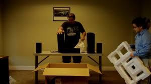 onkyo sks ht870 home theater speaker system rnd tek unboxing of onkyo sks ht594 speakers youtube