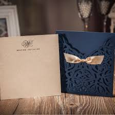 navy wedding invitations jofanza wedding invitations cards laser cut navy blue square