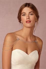wedding dress necklace reina shoulder necklace in sale bhldn