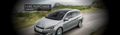 peugeot car hire hire purchase campbeltown motor company