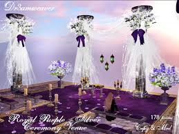 and silver wedding second marketplace dr3amweaver royal purple silver