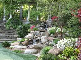 Rock Garden Waterfall Beautiful Rock Garden Waterfall Designs Nytexas