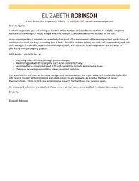 office manager cover letter branch office administrator cover