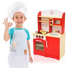 jouet cuisine en bois pas cher cuisine enfant cuisine enfant bois 60 cm x 30 cm x 91 cm jeux de