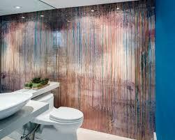 wallpaper powder room houzz