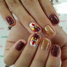 25 thanksgiving nail designs ideas stickers for 2014