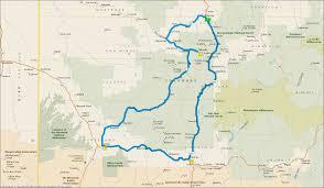 Cortez Colorado Map by Trips Adventures