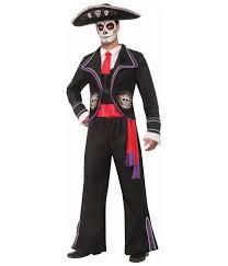 dia de los muertos costumes mariachi de los muertos mens costume scary costumes