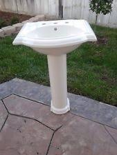 Foremost Series 1920 Pedestal Sink Vitreous China Sink Ebay