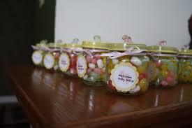 photo baby shower jar favor ideas image