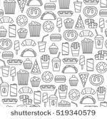 seamless pattern food food pattern free vector art 19000 free downloads