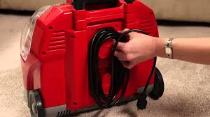 rug doctor portable spot cleaner quick start youtube