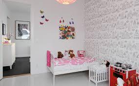 chambre enfant papier peint papier peint chambre fille idées décoration intérieure farik us
