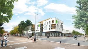 bureaux commerces teraillon tranche 3 construction de 32 logements bureaux et