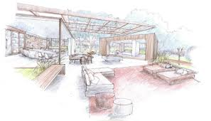 sketch room outdoor indoor house sketch interior design ideas