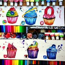 si e social l oeil social media drawing cupecakes интернет draw