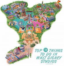 Disney Epcot Map Disney Studios Map Disneyland Paris Pinterest Disneyland