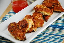 crispy coconut chicken tenders recipe 6 points laaloosh