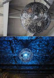 recycled chandeliers 20 awesome diy lamps and chandeliers you can make using everyday