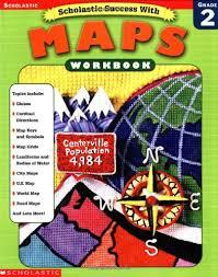 amazon com scholastic success with maps workbook grade 2
