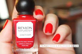 epic red nail polish flying rice u0026 polishing nails