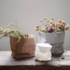 Bag Vase Aliexpress Com Buy Paper Bag Vases Nordic Fashion Decor Flower