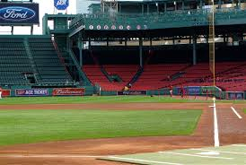 Fenway Park Seating Map Fenway Park First Baseline Tickets Fenway Ticket King