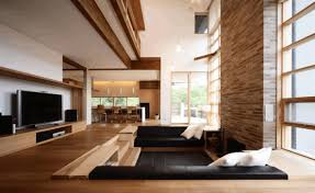 Stairwell Ideas Sleek Matte Black Sofa Fancy Wooden Stairwell Elevated Polished