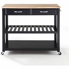 crosley furniture kitchen cart crosley furniture wood top kitchen cart with optional stool