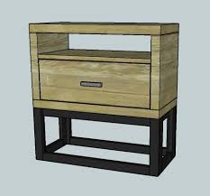 16 Nightstand More Like Home Nightstands Day 16 Chunky Modern