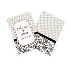 wedding programs personalized wedding programs