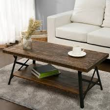 Weathered Coffee Table Distressed Finish Coffee Tables You Ll Wayfair