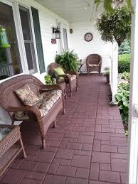 envirotile cobblestone terra cotta 18 in x 18 in rubber paver