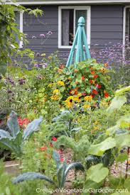 creative vegetable gardener how to use flowers for a more colorful