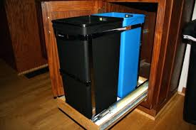 kitchen trash cabinet pull out trash can under sink pull out trash can under sink organizer