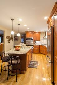 Wood Cabinet Kitchen 99 Best Cherry Wood Cabinet Kitchens Images On Pinterest Cherry