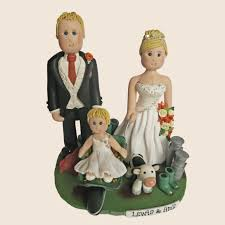 wedding cake toppers personalised and handmade