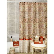 Bed Bath And Beyond Thermal Curtains Grey And Gold Shower Curtain Medallions Shower Curtain In Grey