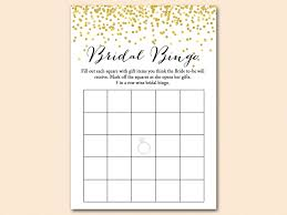 bridal shower gift bingo blank bridal shower bingo template free 3 moderndentistry info