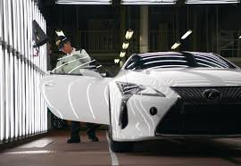 lexus lincoln uk lexus lc production starts off in motomachi japan drivers magazine