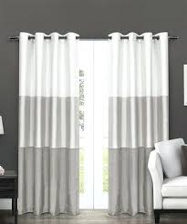 Grey And White Striped Curtains Hillcrest Gray And White Striped Curtains Blue And White